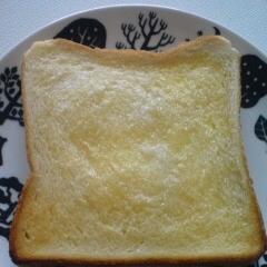 ココナッツミルクのトースト