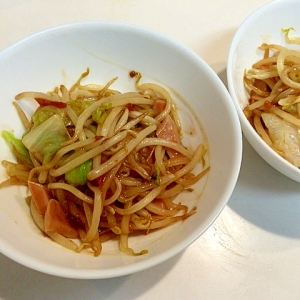 うちのごはん☆簡単魚肉ソーセージ野菜炒め