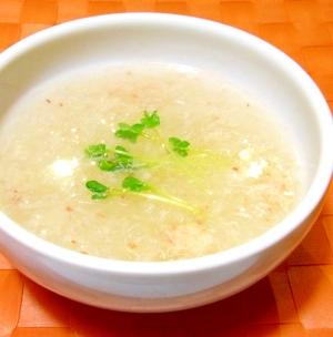 蟹と大根のとろみスープ