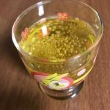 チアシード入りはちみつ生姜緑茶