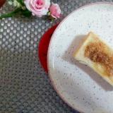 アーモンドバターごまトースト