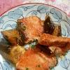 炒めても美味しい!!「鮭のピリ辛炒め」献立