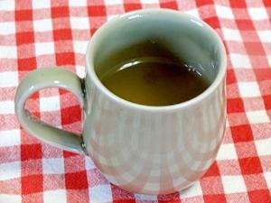 うちのドリンク「生姜緑茶」