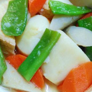 コトコト煮るだけ☆里芋と厚揚げの煮物