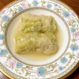 無水鍋で作る☆ロール白菜~コンソメ味