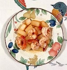 冬瓜と海老の炒め物