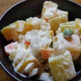 薩摩芋のヨーグルトサラダ