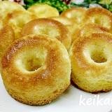 ホットケーキミックスで超簡単☆焼きドーナツ