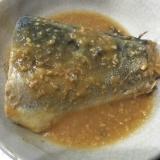 圧力鍋 希少糖入り鯖の味噌煮 糖質制限