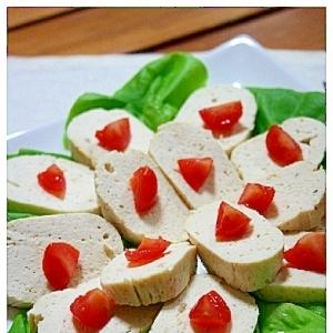 パーティーにいかがですか^^?豆腐と胸肉のテリーヌ