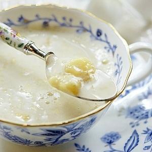 洗い物を減らす ★ カップでジャムバナナミルク