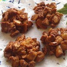 サクサクの焼麩☆新食感ココナッツメープルおこし