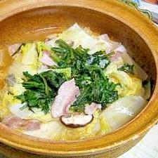 白菜が甘い! ピリから白菜鍋
