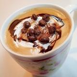 バリスタで チョコ&ホイップオ一レ