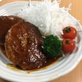 肉汁たっぷり♡簡単本格ハンバーグ♡
