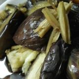 圧力鍋で作る茄子の煮浸し
