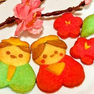 ひな祭りに✿ハート形でプックリ可愛い雛人形