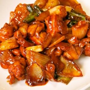 お手軽に♪タッカルビ~鶏肉の甘辛味噌炒め
