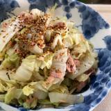 【低糖質】子供も食べるシャキシャキ白菜ツナサラダ!