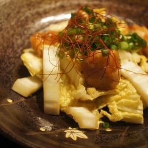 鶏むね肉と白菜の中華風サラダ