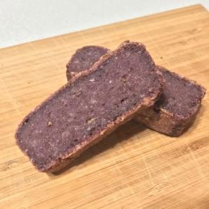 おから入りの紫芋もちもちケーキ