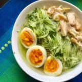【簡単、美味しい❤️】ゴマ香る鶏だし冷麺