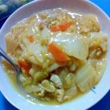 白菜と油揚げの中華煮