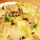 お麩入り☆白菜と春雨の中華煮