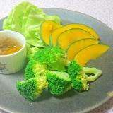 野菜と味噌ディップ