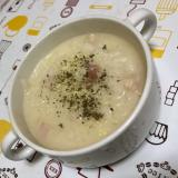 朝ごはんに☆チーズリゾット