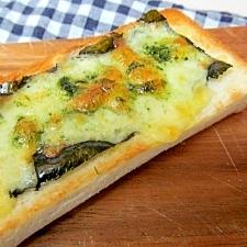 *W海苔のチーズトースト*