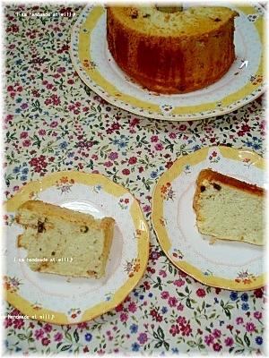 ノンオイルのバナナシフォンケーキ