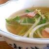 もやしの和風スープ