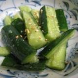 中華風きゅうりの漬物
