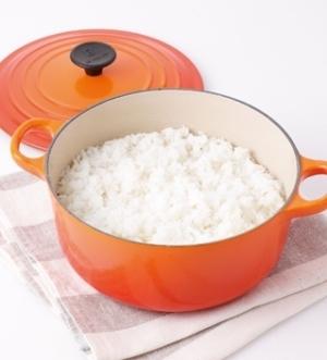 [ル・クルーゼ公式] おいしいご飯(白米)の炊き方