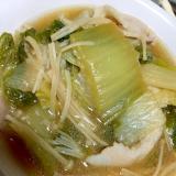 豚と白菜の麺つゆでさっと煮