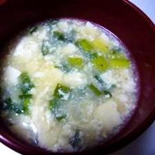 豆腐のスープ