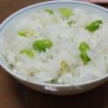 枝豆の炊き込みご飯
