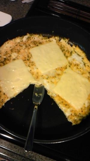 ご飯も進むこってりチーズ焼き
