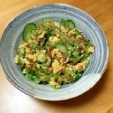 炭水化物抜きダイエット用、納豆&炒り卵