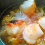 こんがり焼き餅&野菜の雑煮