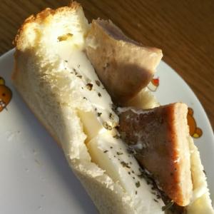 マグロ&クリームチーズのトースト