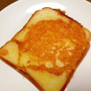 フライパンで☆こんがりチーズトースト
