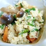 粉高野豆腐の煮物