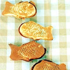 アーモンドプードル入りの皮で洋風鯛焼き