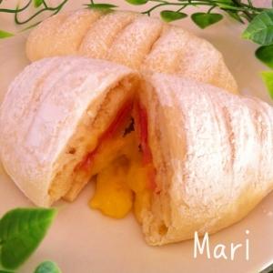 発酵なし‼チーズとろ〜り♪簡単♡パニーニ風