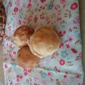 たこ焼き器で!コロコロ~レーズン酵母コーンプチパン