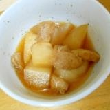 素朴 冬瓜と油揚げのめんつゆ煮