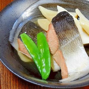 春の和食☆ 「サクラマスと筍の煮付け」