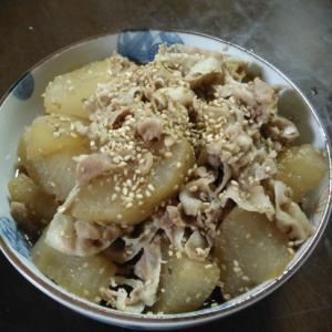作り置き料理:野菜/ばあばの大根の煮物